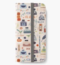 Ink and Things for Writers iPhone Wallet/Case/Skin