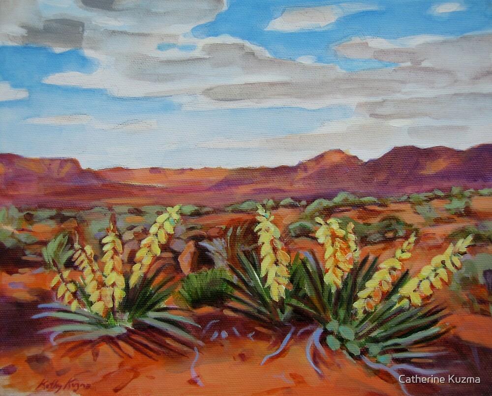 Yuccas by Catherine Kuzma