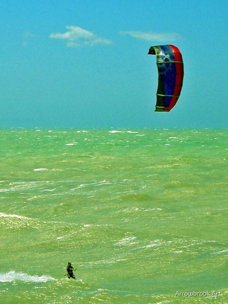 Parasurfing NZ by John Brotheridge