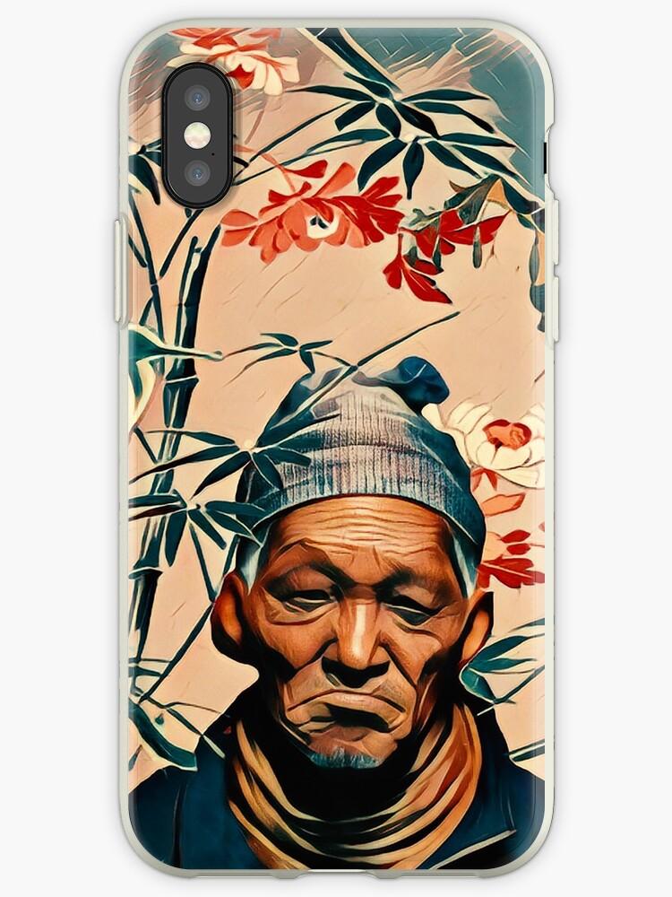 Crane bird & old man by jblittlemonsters