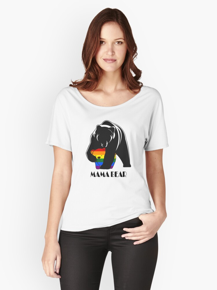 Mama Bear 2 Women's Relaxed Fit T-Shirt Front