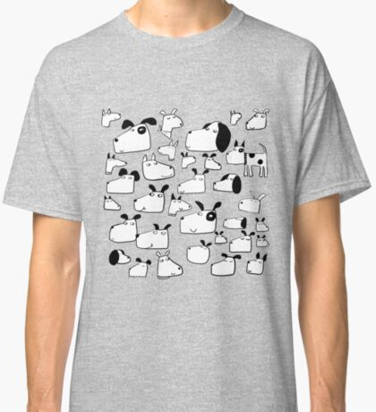 Many Dogs Classic T-Shirt