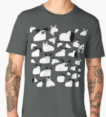Many Dogs Men's Premium T-Shirt