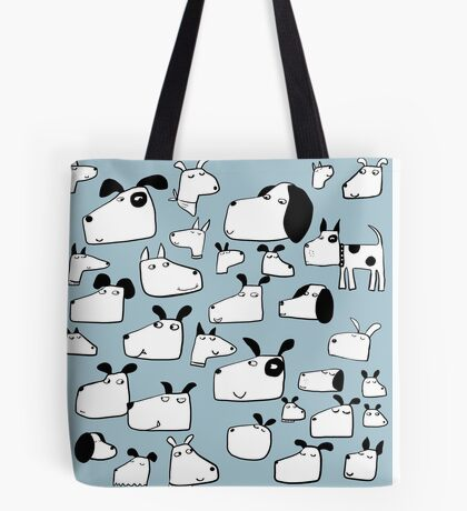Many Dogs Tote Bag