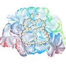 Rainbow Flower #RBSTAYCAY von Barbara Baumann Illustration