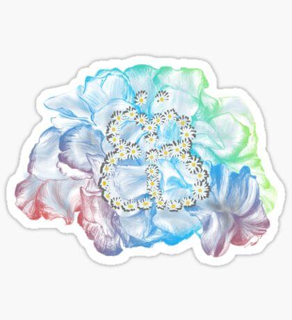 Rainbow Flower #RBSTAYCAY Sticker