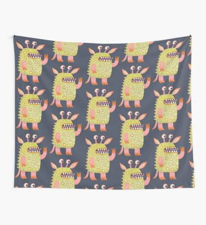 Monster Rufus Wall Tapestry