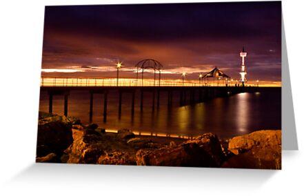 Brighton Sunset by Andre Gascoigne
