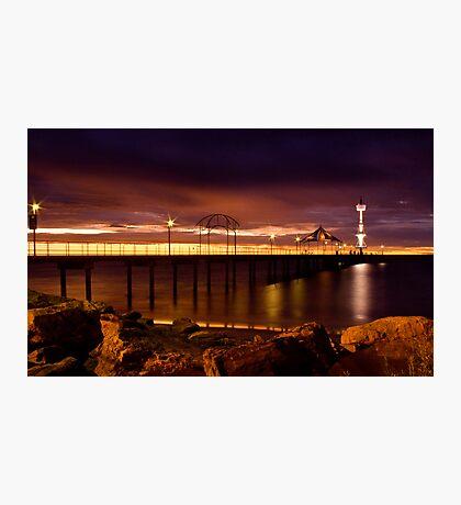 Brighton Sunset Photographic Print