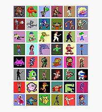 Pixel Heroes Photographic Print