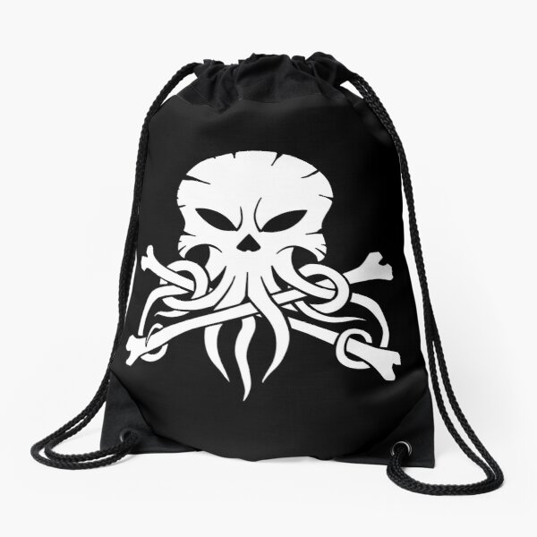 Alestorm Squid Drawstring Bag
