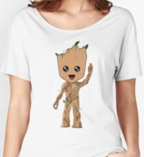 Kawaii Baby Groot Women's Relaxed Fit T-Shirt