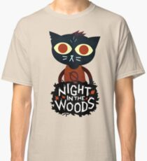 night in the woods Classic T-Shirt