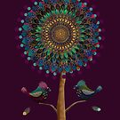 The Mandala Tree by © Karin Taylor