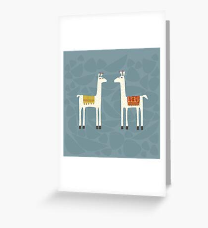 Everyone lloves a llama Greeting Card