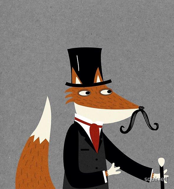 Gentleman Fox by Nic Squirrell