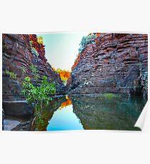 Joffre Gorge Western Australia Poster