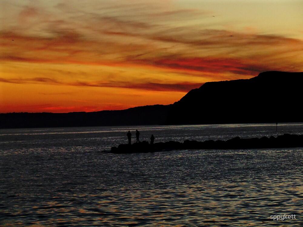 sunset by sppykett