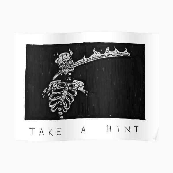 Take a Hint Poster