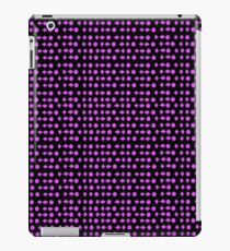 Move Combo Purple on Black iPad Case/Skin