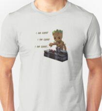 Baby Groot Death Button Unisex T-Shirt