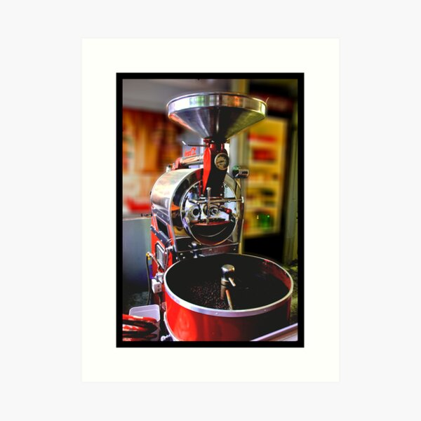 Mr Coffee Art Print
