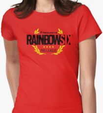rainbow six Womens Fitted T-Shirt