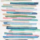 Pastel Stripes 1 by Mareike Böhmer