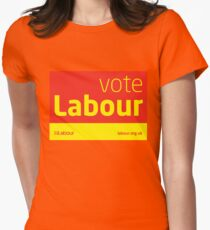 Vote Labour Womens Fitted T-Shirt
