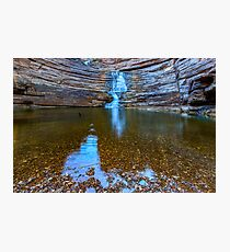 Joffre Gorge waterfall Photographic Print