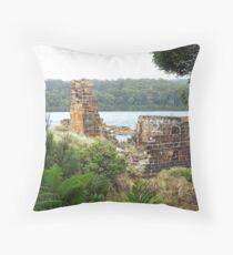 Location Location - Wilderness, Tasmania Throw Pillow