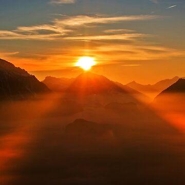 Sunset by rosiczka