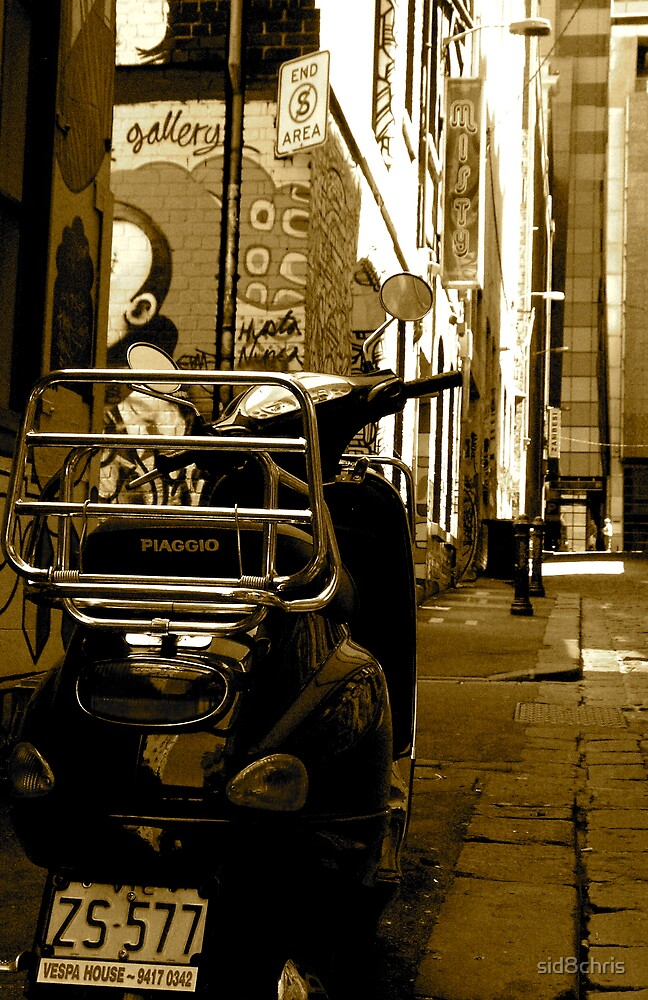 Vespa in the House by sid8chris
