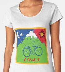 Hofmann's Bike Ride T-shirt Print Women's Premium T-Shirt