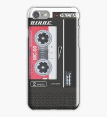 Dale Cooper Tape Recorder (Diane) - iPhone Case iPhone Case/Skin