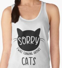 Sorry, I was thinking about CATS Women's Tank Top