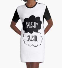 Sushi? Sushi. Graphic T-Shirt Dress