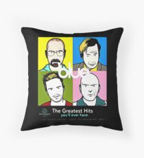 blue greatest hits Throw Pillow