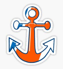 USCG Anchor Sticker