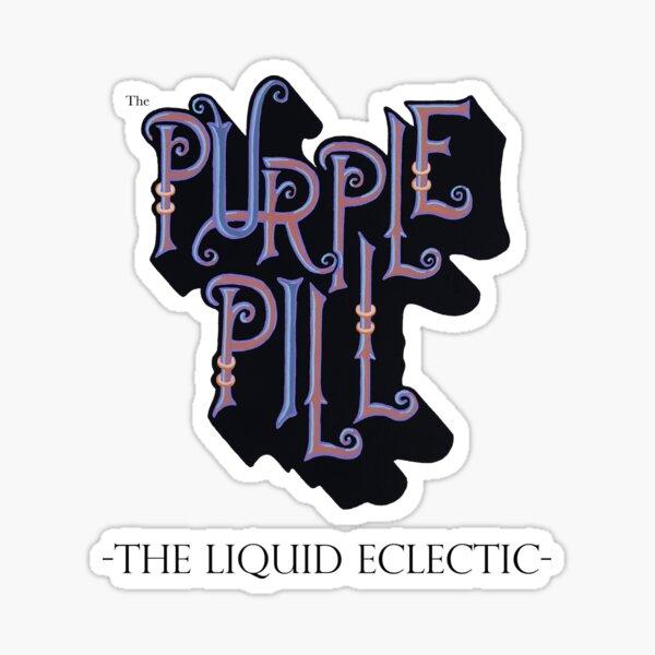 The Purple Pill Sticker