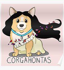 Corgahontas Poster