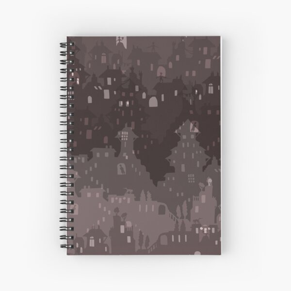 Tremontaine: Skyline Spiral Notebook