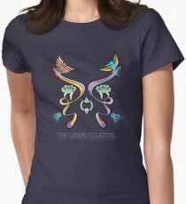 The Liquid Eclectic- album artwork Women's Fitted T-Shirt