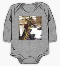 Giraffe on the Carousel Kids Clothes