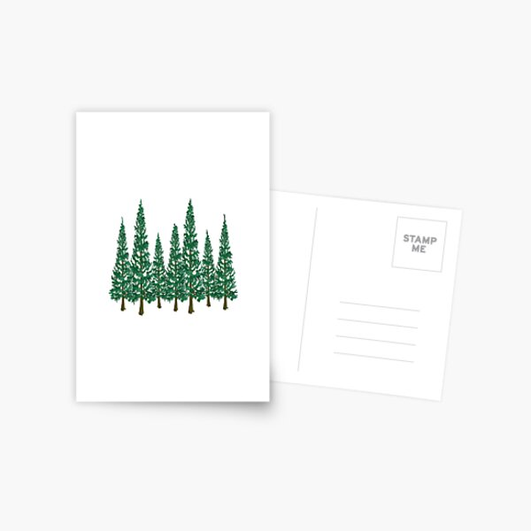 Into the Pines Postcard