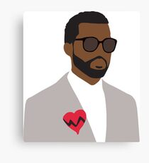 Kanye West 808's and Heartbreak  Canvas Print