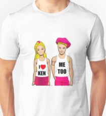 I Love Ken! (Me Too). Funny, Gay Art Unisex T-Shirt