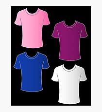 Giro d' Italia shirts Photographic Print
