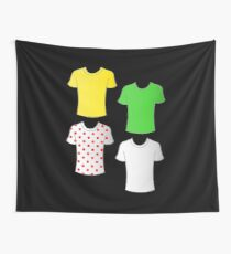 Tour de France shirts Wall Tapestry