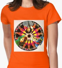DEEE LITE - ROUND Womens Fitted T-Shirt